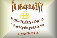 IX urodziny 1b